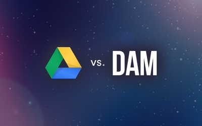 graphic image for Google Drive vs. Digital Asset Management (how to make up your DAM mind) resource