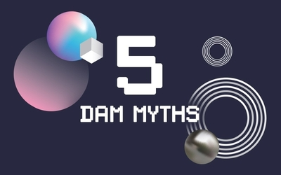 graphic image for 5 digital asset myths hurting your brand resource