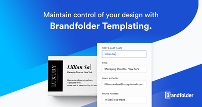 graphic image for Brandfolder Templating: 4 minute demo resource